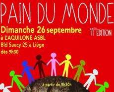 Journée Pain du Monde 2021 – dimanche 26 septembre